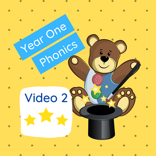 Year One Phonics lesson (Phase 5 Sounds) - video 2 (Magic & dancing)