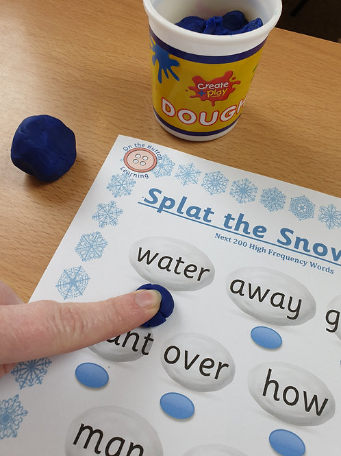'Splat the Snowball' - Next 200 High Frequency Words
