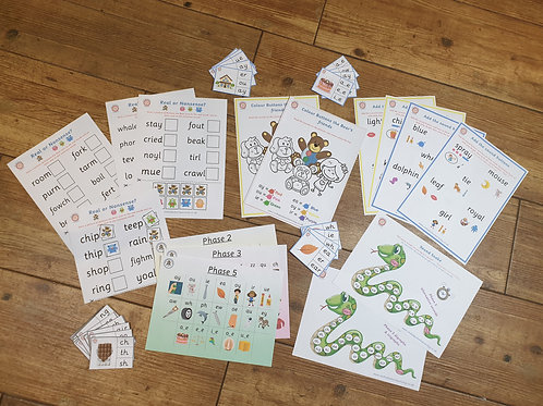 Year 1 Lockdown Learning Phonics Pack