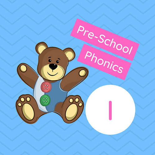 Pre-school Sound Buttons Phonics - i