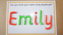 How to Practise Name Writing