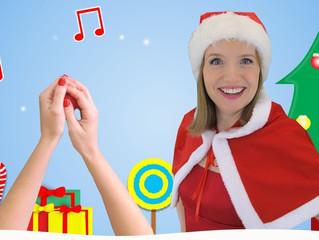 Christmas Playdough Disco Fun