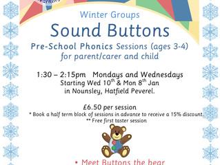 Sound Buttons (Pre-School phonics Classes)