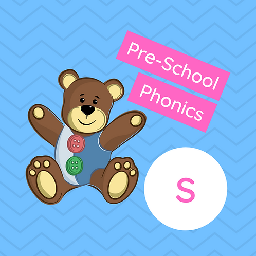 Pre-School Sound Buttons Phonics class - S