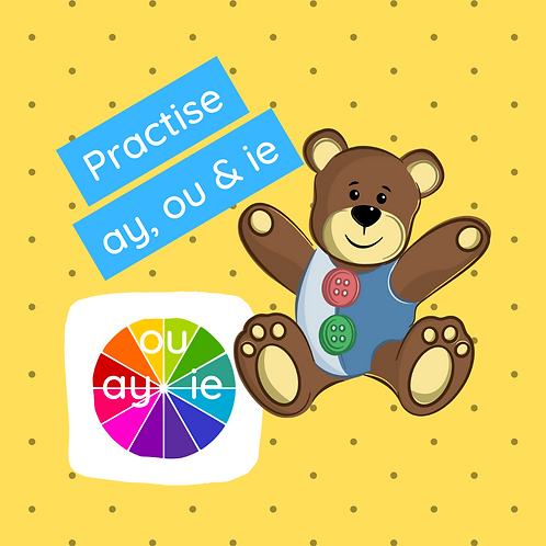Phonics class - Practise ay, ou & ie