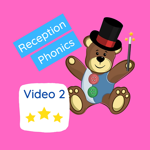 Reception Phonics Lesson - Video 2 (Magic & Dancing)