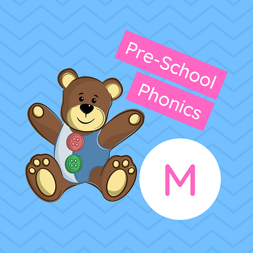 Pre-school Sound Buttons Phonics class - M