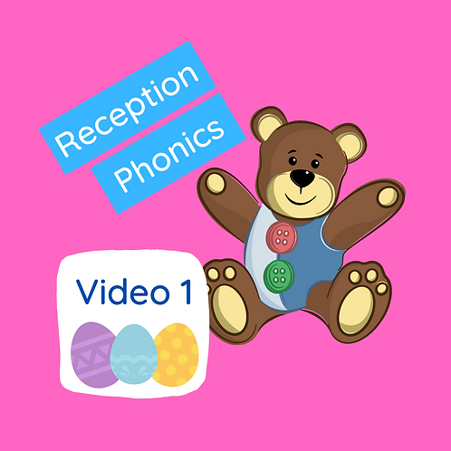Reception Phonics Lesson (Phase 3 digraph/trigraphs) - Video 1 (Eggs & pom poms)