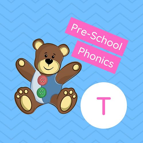 Pre-school Sound Buttons Phonics class - T