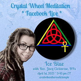 Ice Blue Crystal Wheel Meditation