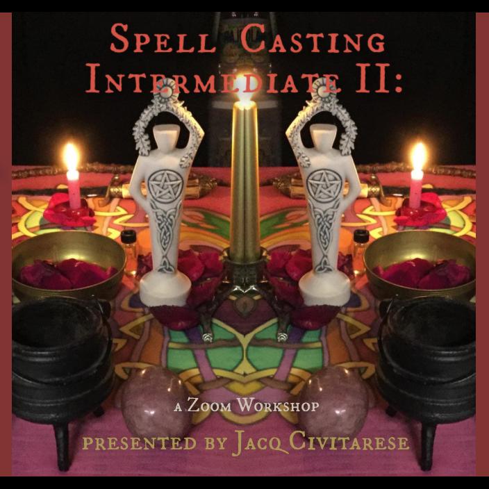 Spell Casting Intermediate II: Planetary energies, Tools & Talismans