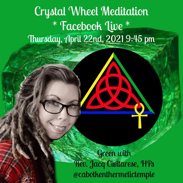 Green Crystal Wheel Meditation