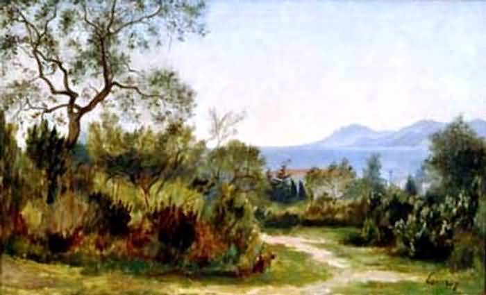 Paysage in South of France