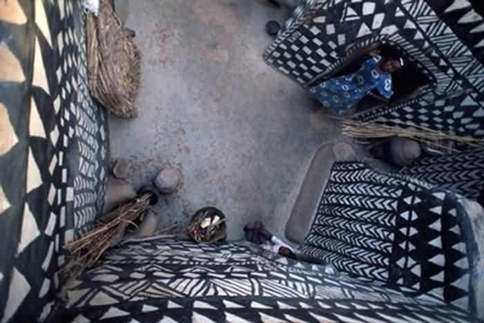 Burkino Faso Village / Cibachrome Photography