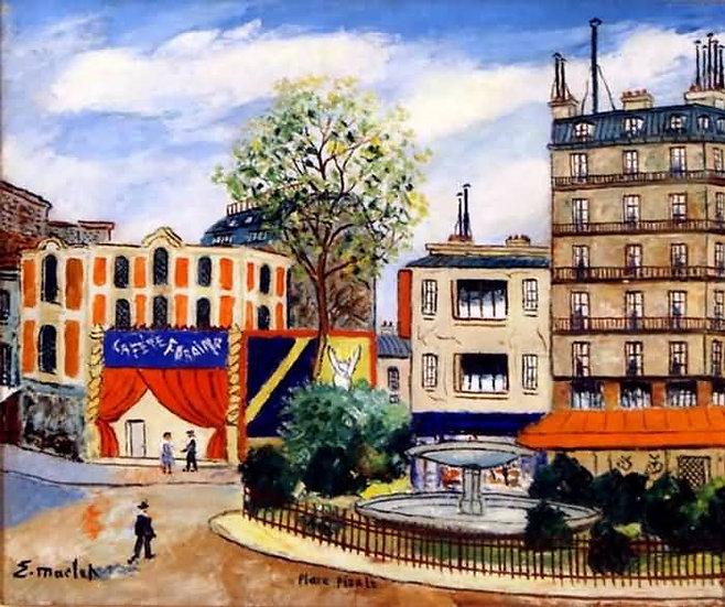 Place Pigale à Paris