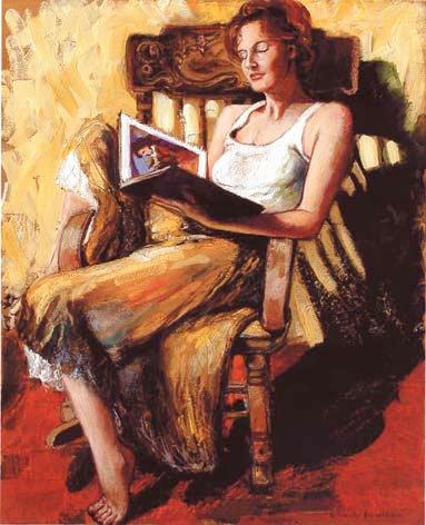 Reading on Rocker