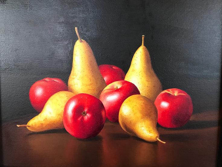 Cinq Pommes Quatre Poires