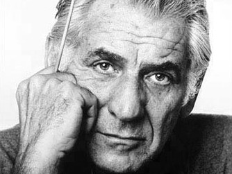 """Leonard Bernstein, """"Slava!"""""""