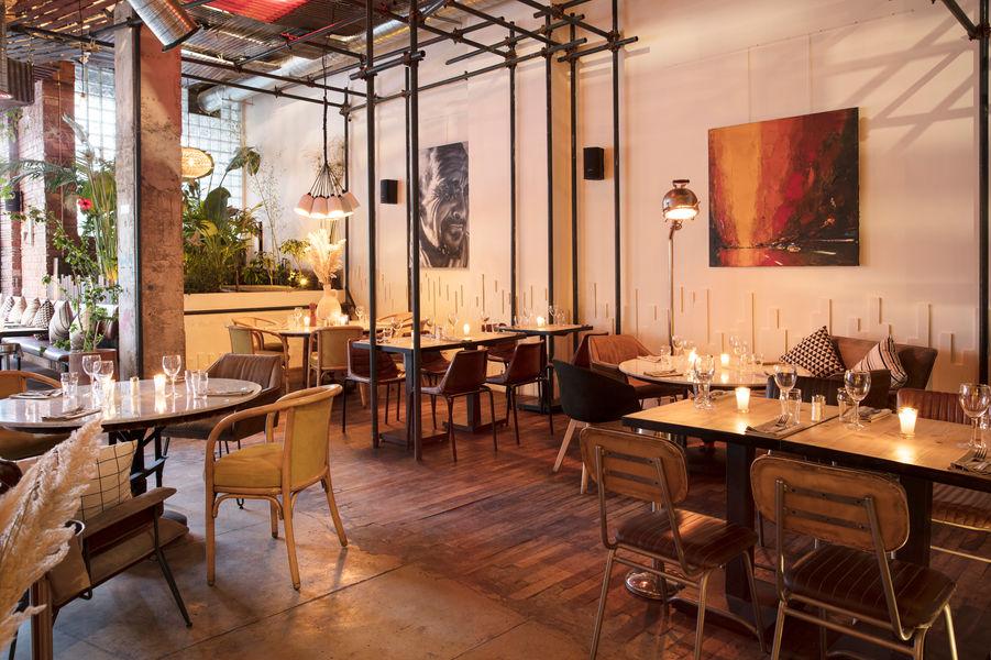 La Palette Restaurant Marrakech 24 Rue Moulay Ali