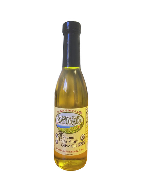 100% Organic, Unfiltered and Unrefined Extra Virgin Olive Oil