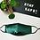 Thumbnail: Seidenmaske grün