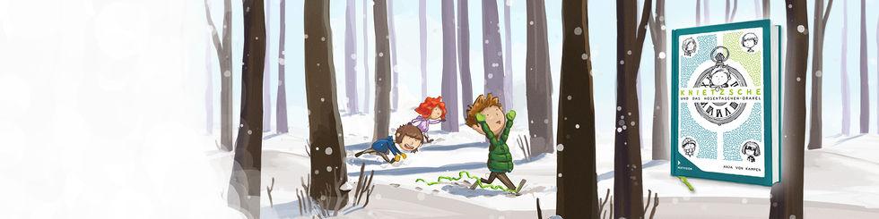 Knietzsche und das Hosentaschenorakel, Abenteuerroman für Kinder