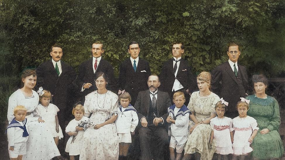 Familia Essenfelder - 1922