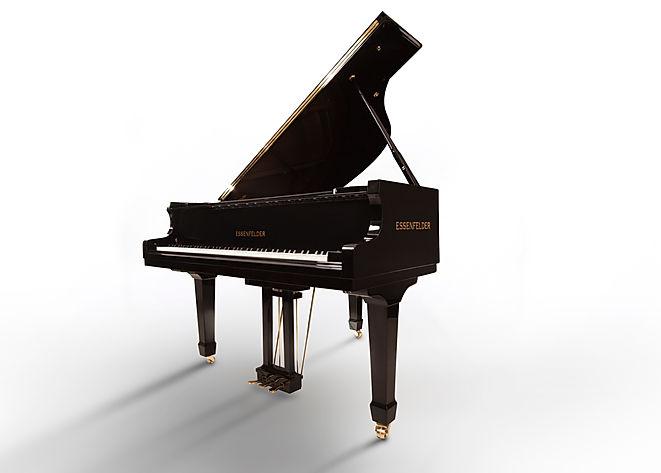 Detalhe externo piano de cauda essenfeld