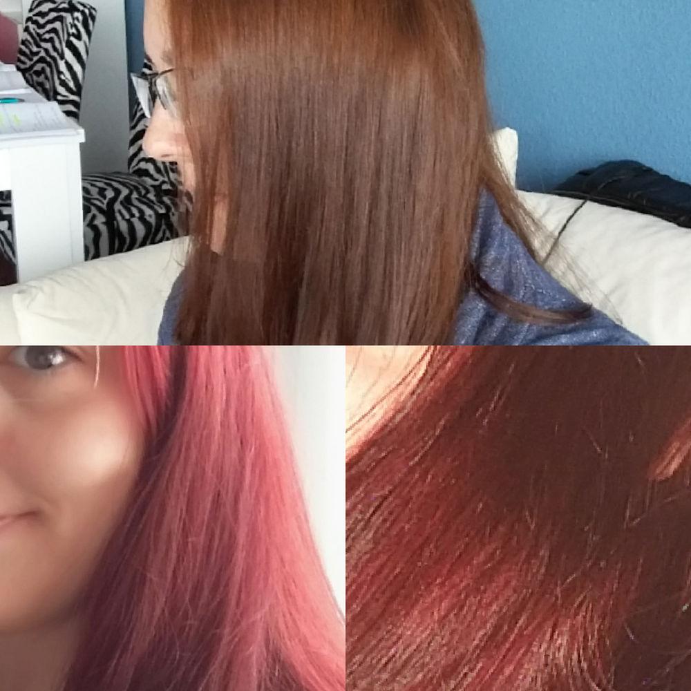 Zu rot geworden haare Haare rot