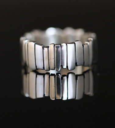 Silver Fence Ring