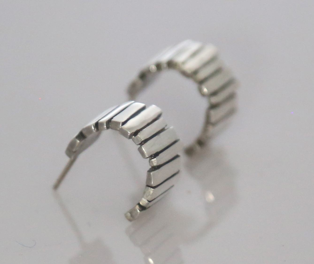 Silver Fence Hoops