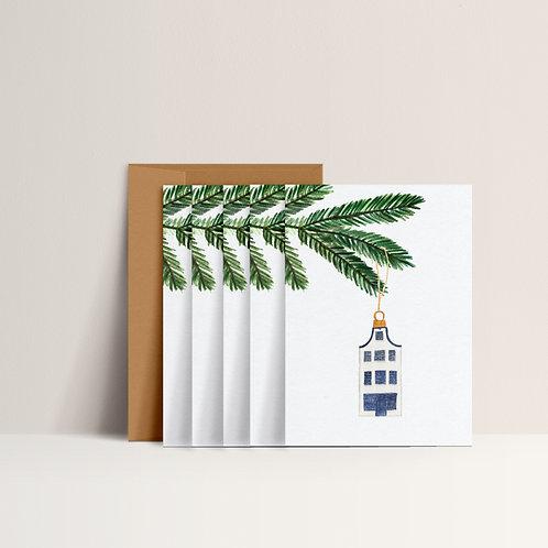 ⋆ Christmas card set ⋆ Little home