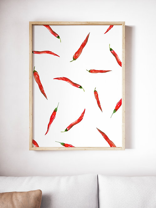 Poster Red Pepper