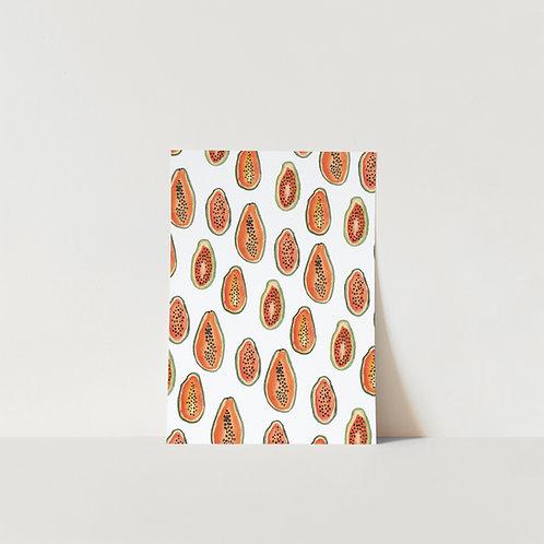 Postcard Papaya