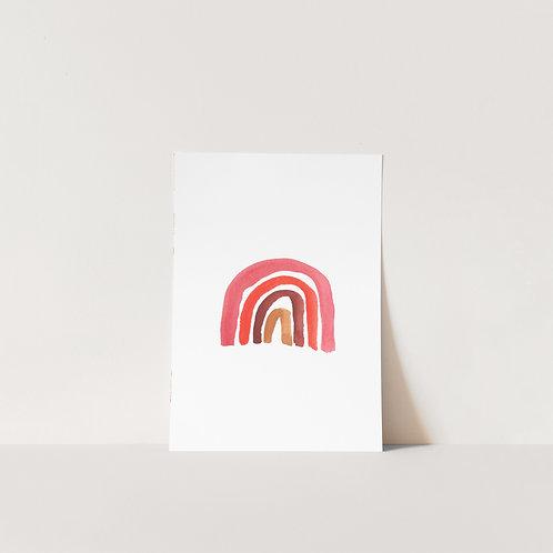 Postcard Rainbow