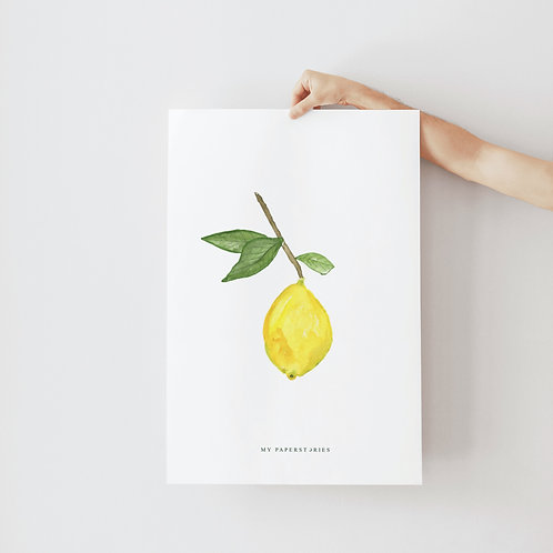 Poster Lemon