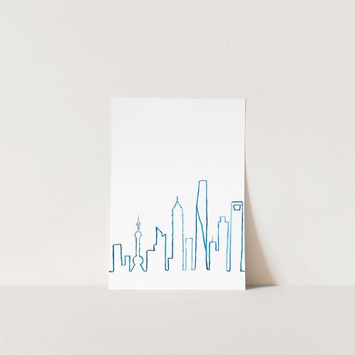 Postcard Shanghai