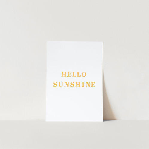 Postcard Sunshine