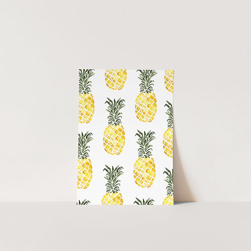 Postcard Pineapple party