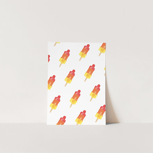 Postcard Raket