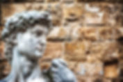 Florence-Michelangelo's David head .jpg
