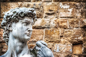 Florence-Michelangelo's David head .jpg
