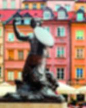 poland-Statue of Syrenka, Mermaid of War