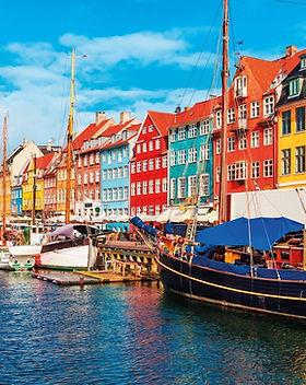 Denmark-Old Town of Copenhagen, Denmark.