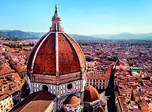 Florence-View of the Cathedral Santa Mar