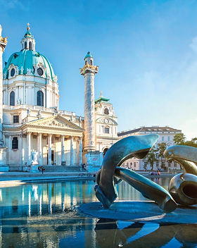 austria-St. Charles's Church in Vienna.j