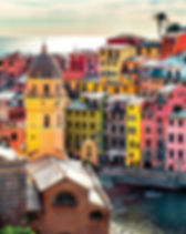 5Terre-View of Vernazza. Vernazza is a t