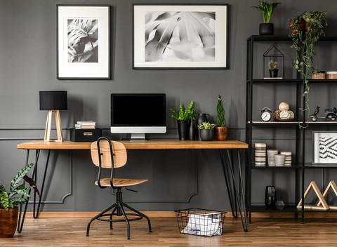 Como montar um home office agradável e produtivo