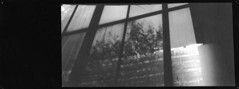 Steel, Glass & Concrete. Pinhole, 2018.