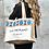 Thumbnail: ECO COTTON & YUTE BAG ETHNIC BLUE